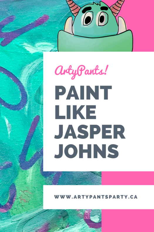 Paint like Jasper Johns